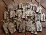 houten cadeaulabels