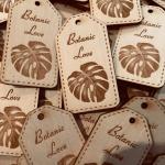 houten labels