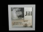 Geboortespiegel 15x15 cm.l in fotobox