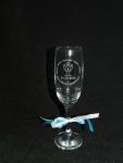 Champagneglas bij kampioenschap